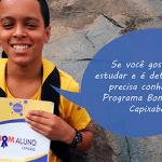 Conheça o Programa Bom Aluno Capixaba que desenvolve jovens do ES