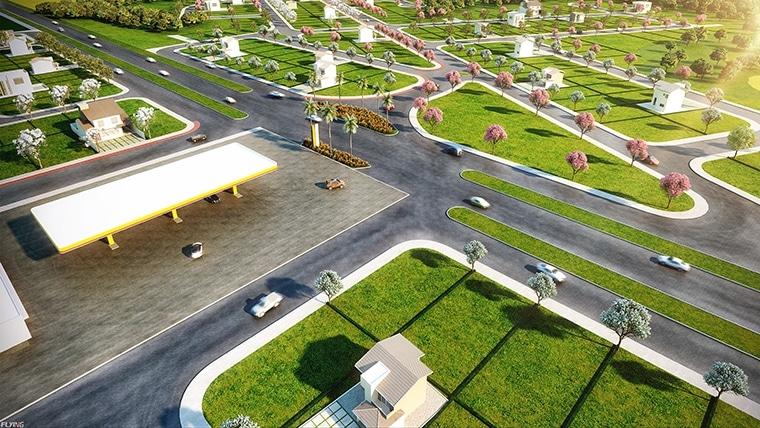 Áreas verdes se destacam em bairros planejados
