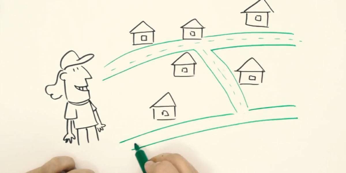 Facilidade: terrenos para construir casas já com projeto, plantas e muito mais!