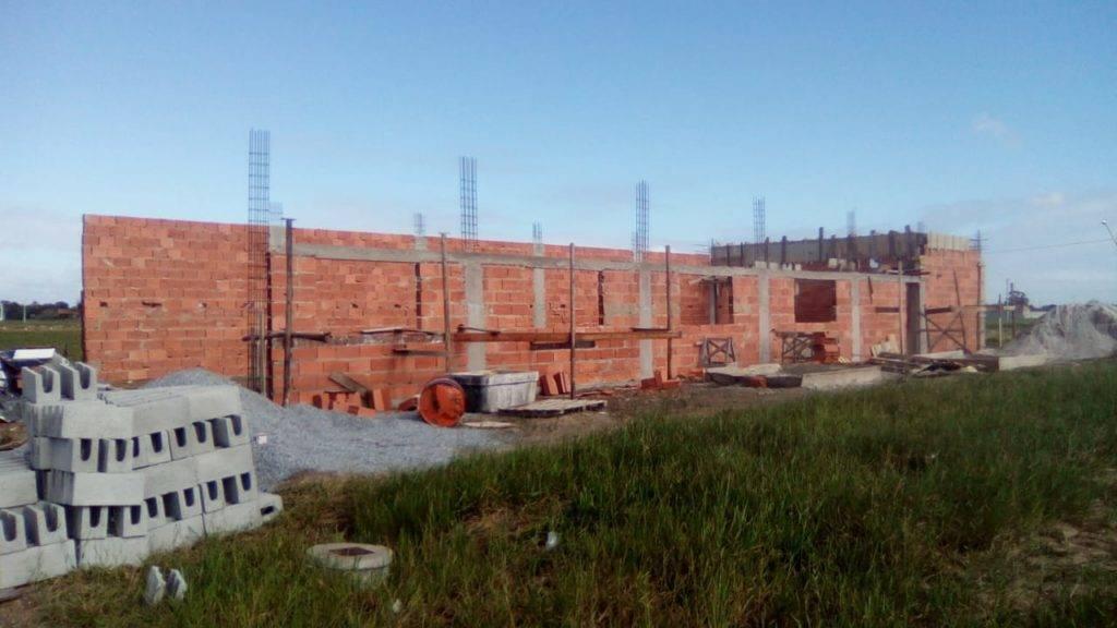 Construção no Villa Maria,em Linhares