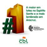 CBL, a marca mais lembrada em Aracruz