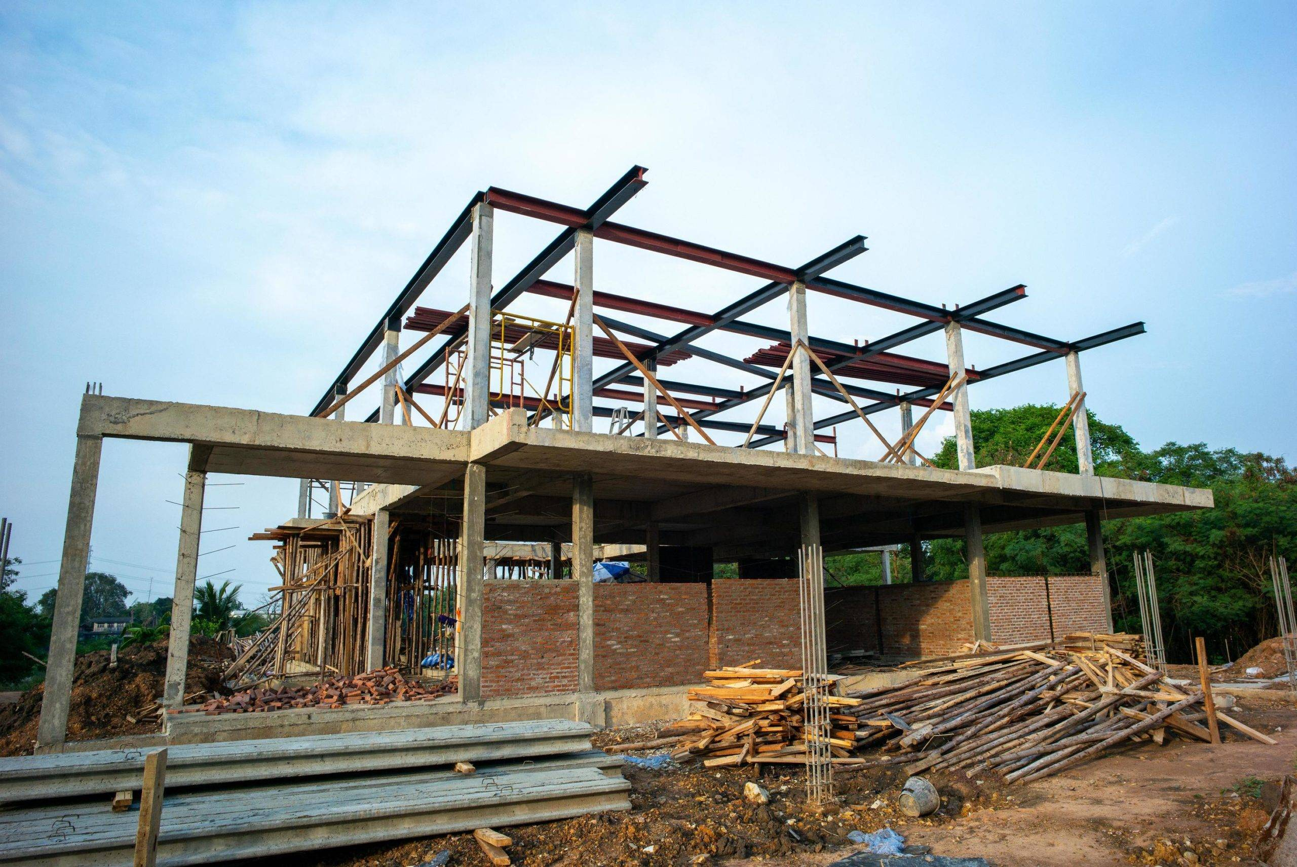 etapas de obras de uma casa